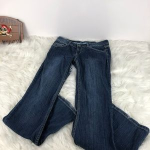 Mudd Jeans with a Light Wash Front Size 5 Long